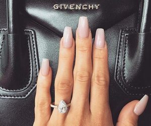 nails, ring, and Givenchy image