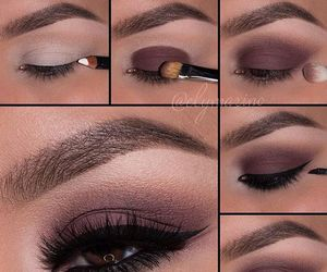 eyebrows, eyes, and tutorial image