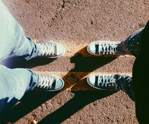 all star, bff, and converse image