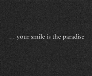 him, paradise, and quotes image