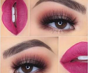 lips, eyes, and fashion image