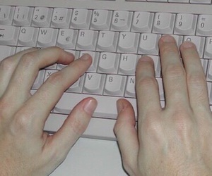 pale, grunge, and hands image