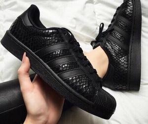 adidas, black, and it image