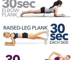 abs, chest, and plank image