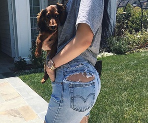 kylie jenner, kylie, and dog image