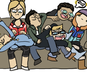 game, lol, and until dawn image