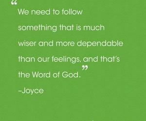 feelings, follow, and joyce meyer image