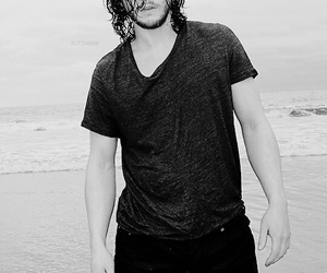 actor, game of thrones, and kit harrington image