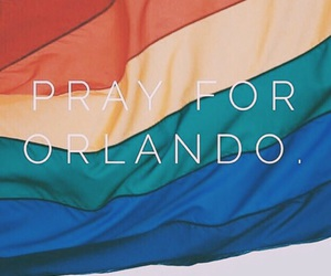 orlando, prayfororlando, and lgbt image
