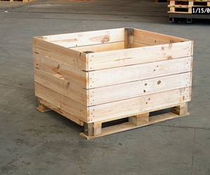 pallet toy box, pallet storage box, and pallet chest ideas image