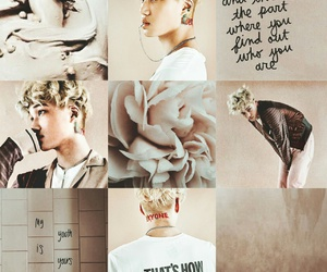 exo, moodboard, and kai image