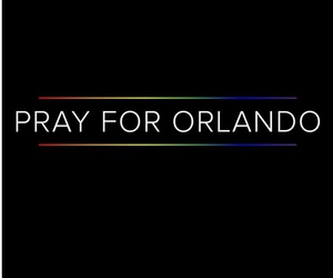 prayfororlando and orlando image