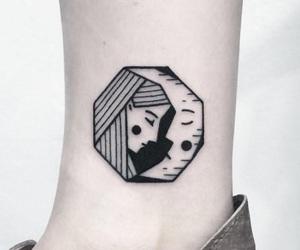 ink, tattoo, and minitattoo image