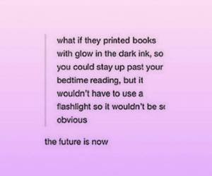 books, cool, and funny image