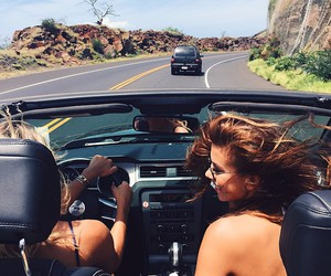 car, summer, and drive image