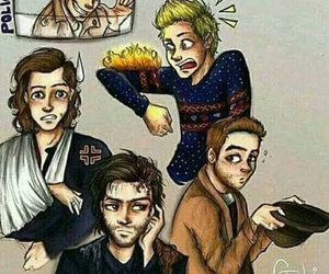 one direction, night changes, and zayn malik image
