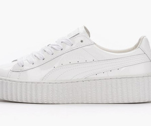 creepers, minimalist, and all white image