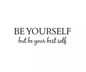 yourself, quotes, and be image