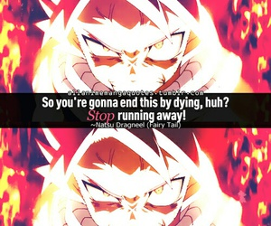 fairy tail, quotes, and natsu image