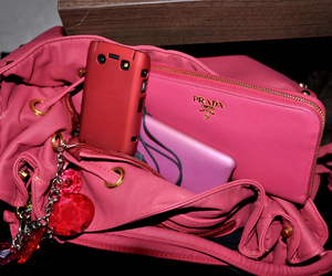 Prada, pink, and fashion image