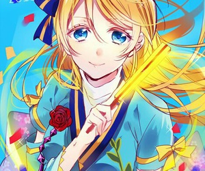 anime girl, love live, and school idol project image