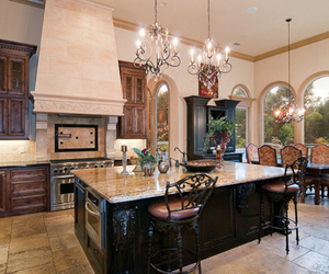 kitchen, luxury, and house image