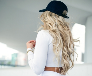 ass, blonde, and curls image