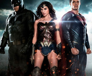 batman, superman, and wonder woman image