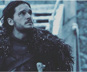 got, game of thrones, and jhon snow image