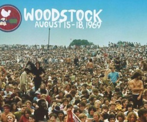 woodstock, 1969, and peace image