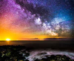 astronomy, colours, and isle of wight image