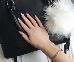 girl, bag, and nails image