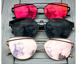 sunglasses, summer, and beauty image