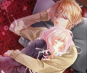 diabolik lovers, anime, and couple image