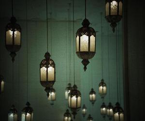 light, red, and lantern image