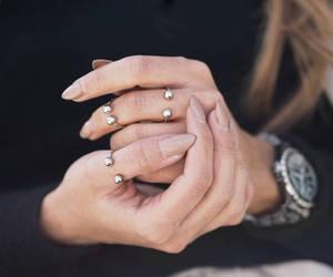 fashion, girl, and nail polish image