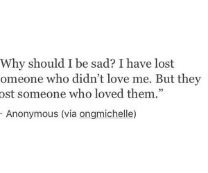 quote, sad, and lost image