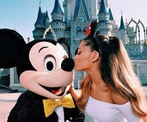 ariana grande, disney, and disneyland image