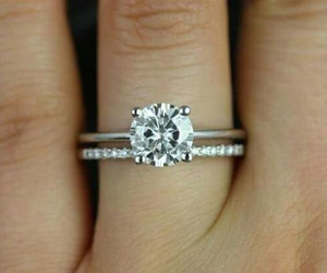 engagement, pretty, and ring image