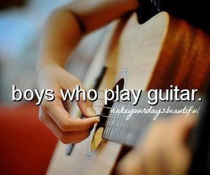 guitar and words image