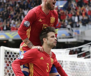 pique, Barcelona, and football image