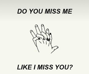me, miss, and missing image