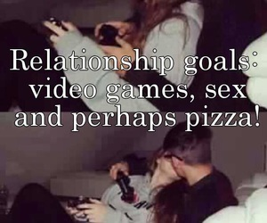 goals, sex, and pizza image