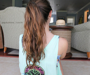hair, fashion, and clothes image
