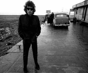 bob dylan, dylan, and black and white image