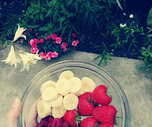 fitness, fruit, and lifestyle image
