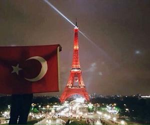 turkey, flag, and paris image