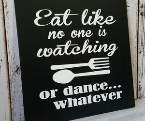 dance, eat, and funny image