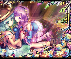 touhou and touhou project image
