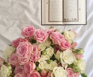 rose, flowers, and islamic image